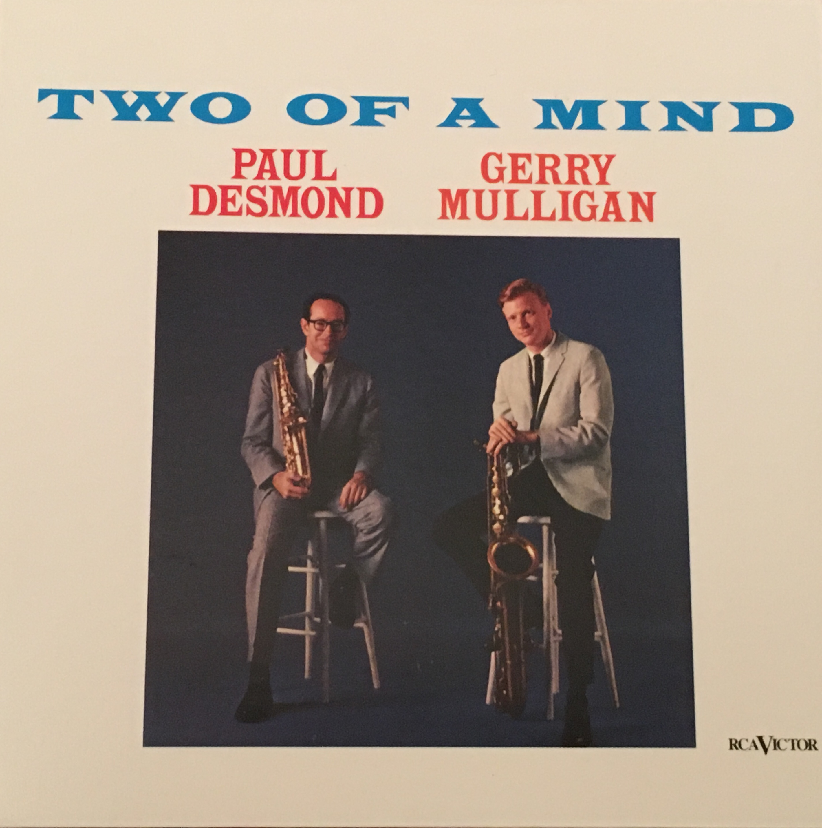 #378 Paul Desmond & Gerry Mulligan -Two of a Mind